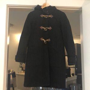 Classic black JCrew coat